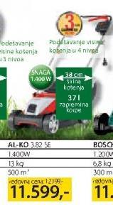 Električna Kosačica AL-KO 3.82 SE