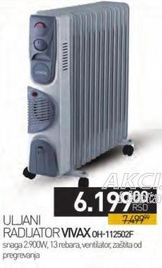 Radijator uljni Oh-112502f