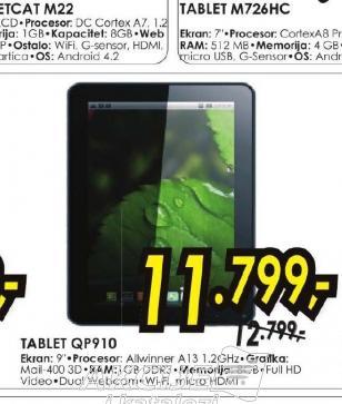 Tablet QUART QP910