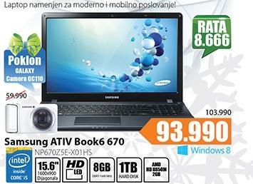 Laptop ATIV Book6 670 NP670Z5E-X01HS
