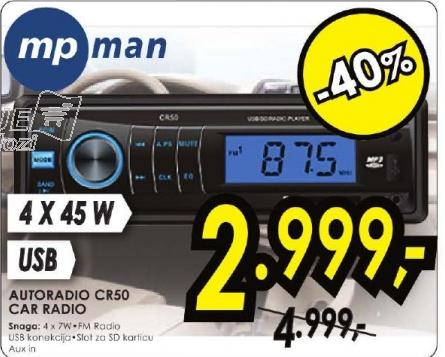 Autoradio CR50