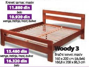 Krevet samac masiv