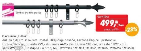 Garnišna Lilie 120cm