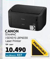Laserski Štampač Lbp-6030B