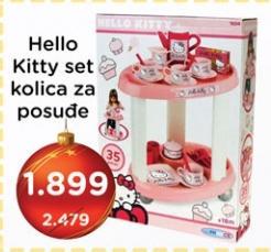 Hello Kitty kolica za posuđe