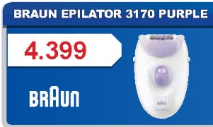 Epilator 3170 PURPLE