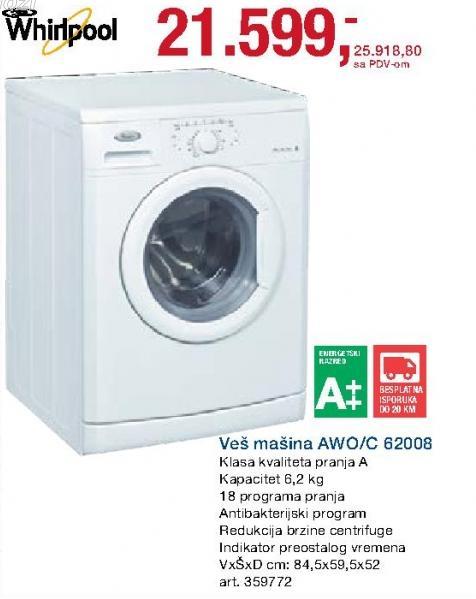 Veš mašina Awo/c 62008
