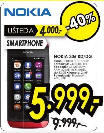 Mobilni telefon Asha N 306 RD