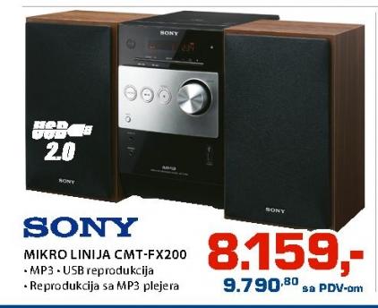 Mikro Linija Cmt-Fx200