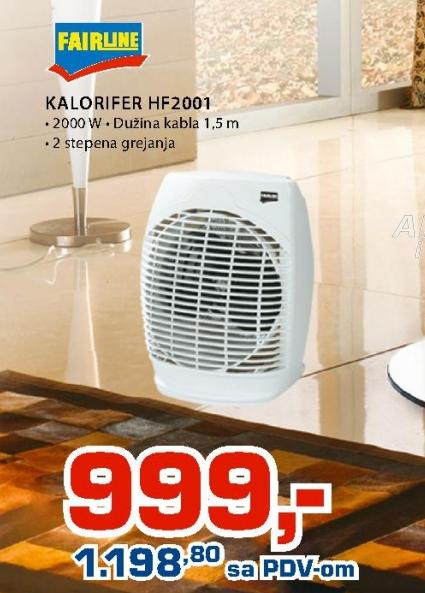 Kalorifer HF2001