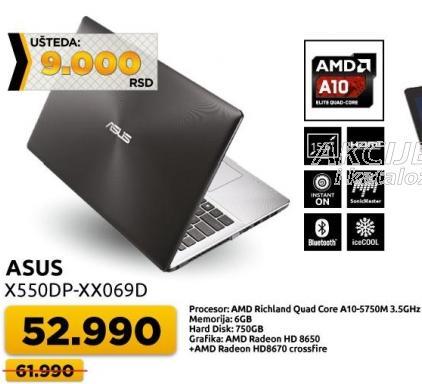 Laptop X550dp-xx069d