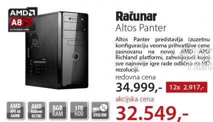 Desktop računar Altos Panter