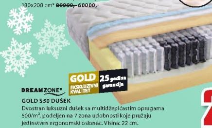 Dušek Gold S50