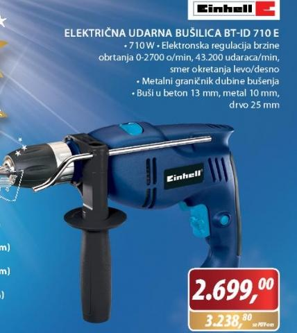 UDARNA BUŠILICA BT-ID 710 E