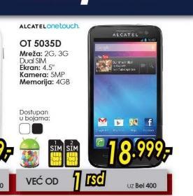 Mobilni telefon One Touch XPop OT-5035D