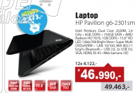 Laptop Pavilion G6-2301sm