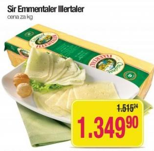 Emmentaler sir