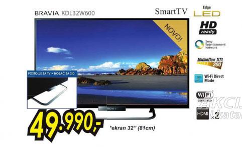 Televizor LED LCD KDL-32W600ABAEP