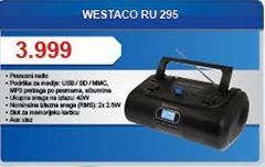 Radio kasetofon RU-295