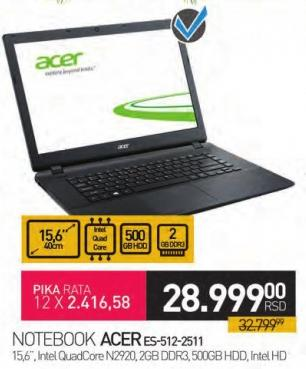 Notebook es-512-2511