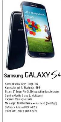 Mobilni telefon Galaxy S 4