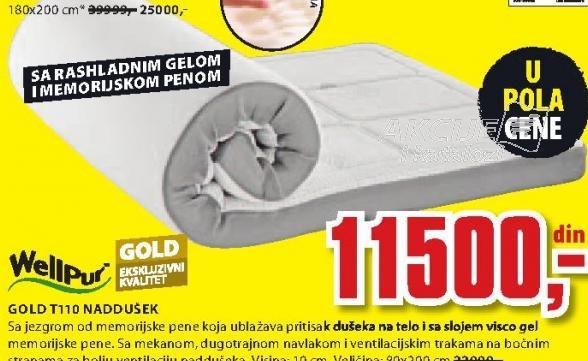 Naddušek Gold T110