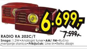 Radio RA 202C