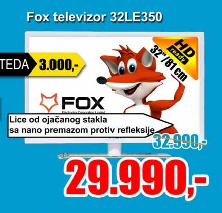 "Televizor LED 32""32LE350"