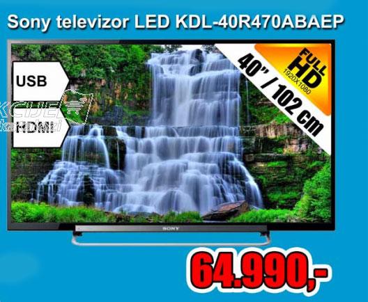 LED Televizor KDL-40R470ABAEP