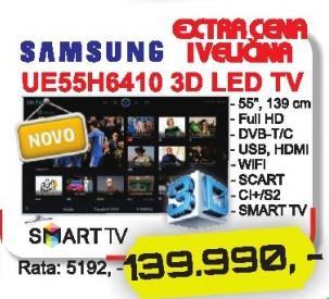 """Televizor LED 55"""" 3D Ue55h6410"""