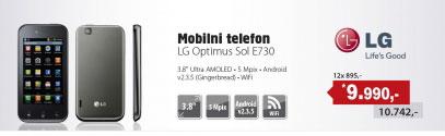 Mobilni telefon Optimus Sol E730