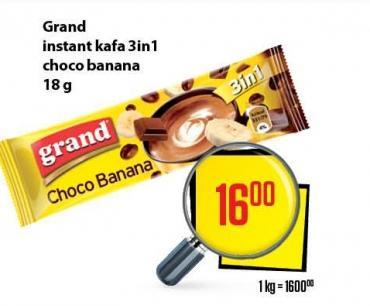 Kafa instant 3u1 choco banana