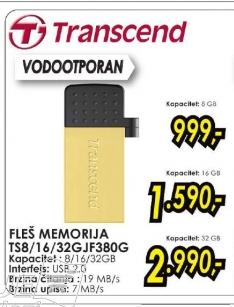 USB flash TS16GJF380G