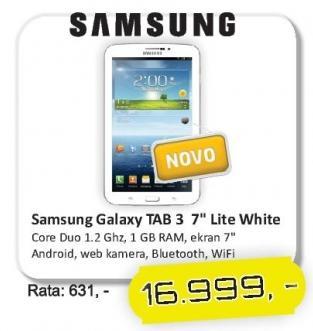 Tablet Galaxy Tab3 7.0 Lite White