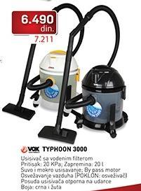 Usisivač Typhoon 3000