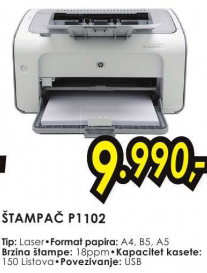 Laserjski štampač P1102