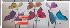 Baštenski ukrasi leptiri
