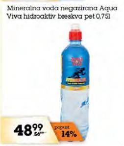 Mineralna voda breskva