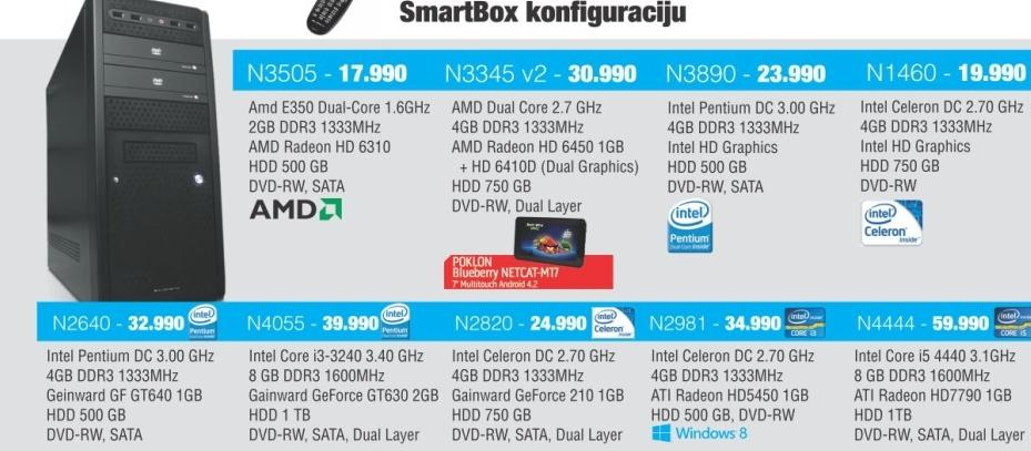 Desktop računar  N3345 V2