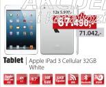 Tablet iPad 3 Cellular 32GB