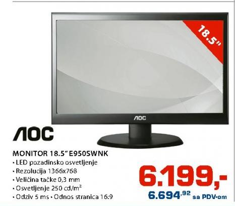 """Monitor 18,5"""" E950SWNK"""