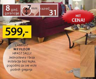 Laminat My Floor Hrast Sally