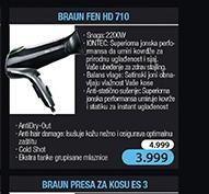 Fen za kosu HD710