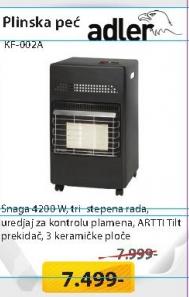 Plinska peć KF-002A