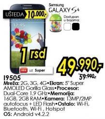 Mobilni telefon Galaxy S4 i9505