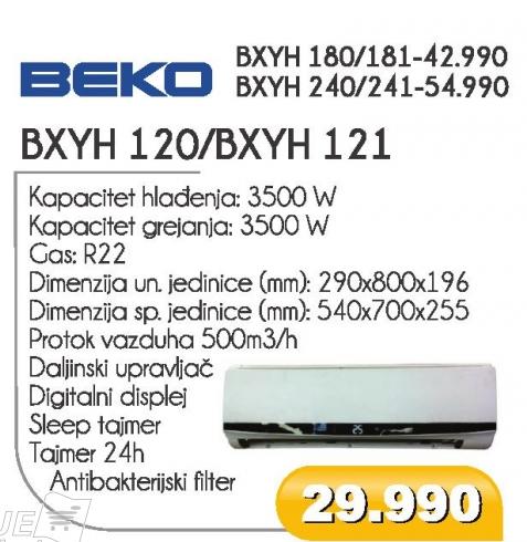 BXYH 120/BXYH 121