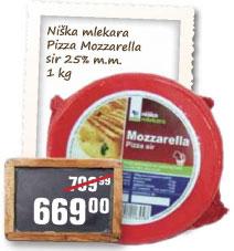 Mozzarella sir 25% mm