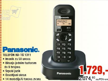 Telefon KX-TG1311