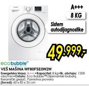 Mašina za pranje veša WF80F5E0W2W