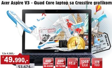 Laptop Aspire V3